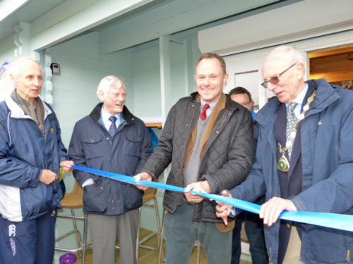 Official opening of Worthing Hockey Club